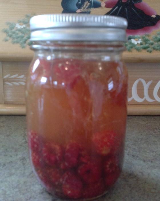 Raspberry and honey